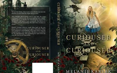 "Cover: ""Curiouser and Curiouser"" by Melanie Karsak"
