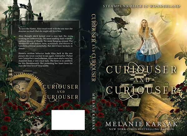"Cover: ""Curiouser and Curiouser"" by Melanie Karsak"