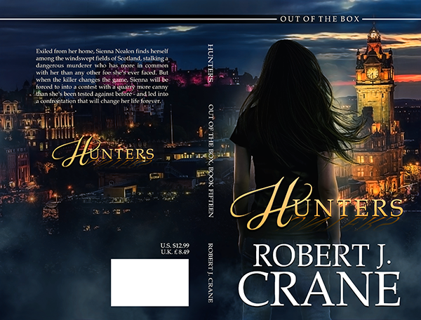 "Cover: ""Hunters"" by Robert J. Crane"