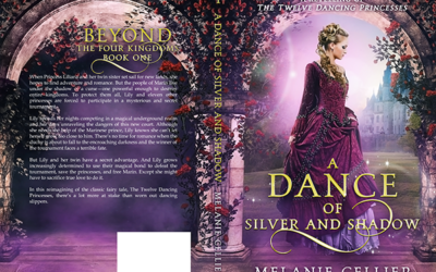 """Cover: """"A Dance of Silver and Shadow"""" by Melanie Cellier"""