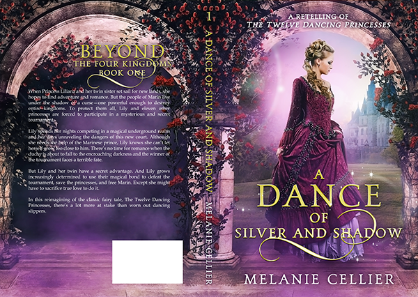 "Cover: ""A Dance of Silver and Shadow"" by Melanie Cellier"