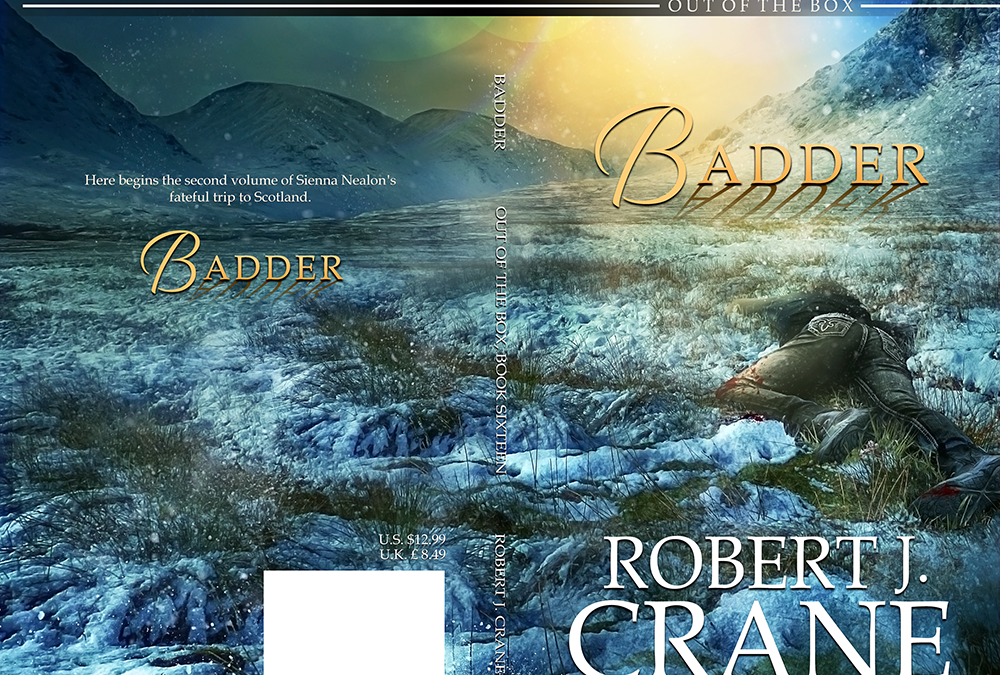 "Cover: ""Badder"" by Robert J. Crane"