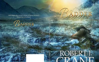 """Cover: """"Badder"""" by Robert J. Crane"""