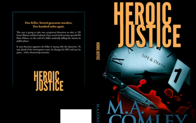 "Cover: ""Heroic Justice"" by MA Comley"