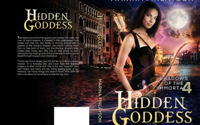 "Cover: ""Hidden Goddess"" by Marina Finlayson"