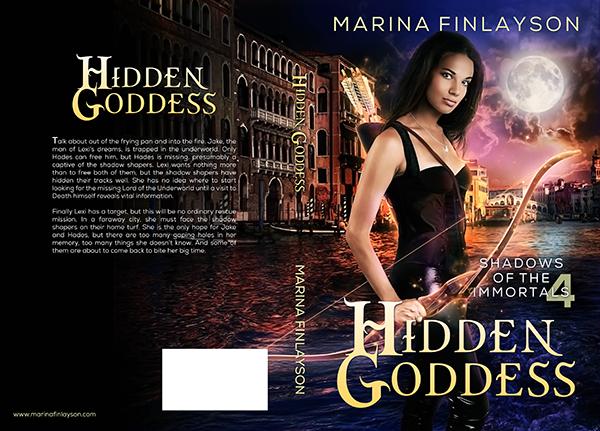 "Cover: ""Hidden Goddess"" by Marina Finlayson"
