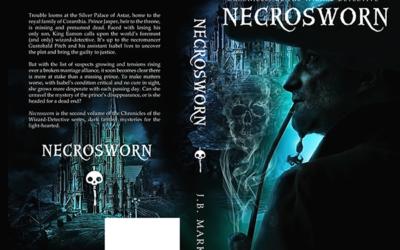 "Cover: ""Necrosworn"" by JB Markes"