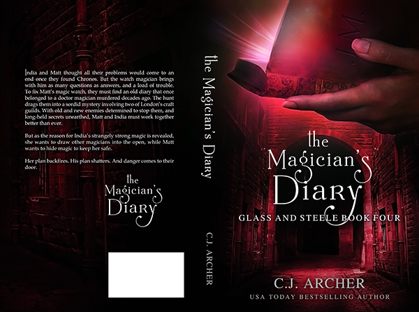 """Cover: """"The Magician's Diary"""" by CJ Archer"""