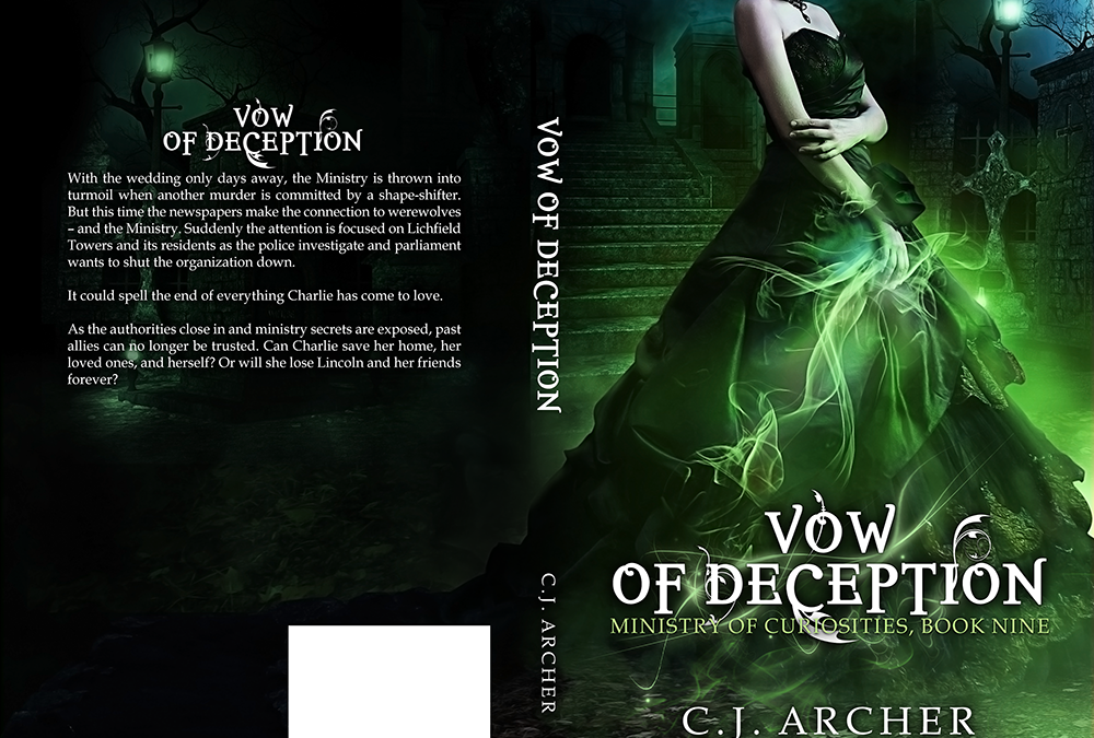 "Cover: ""Vow of Deception"" by CJ Archer"