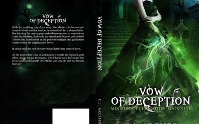 """Cover: """"Vow of Deception"""" by CJ Archer"""