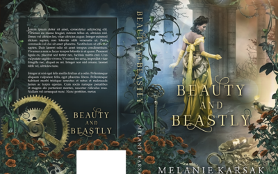 "Cover: ""Beauty and Beastly"" by Melanie Karsak"