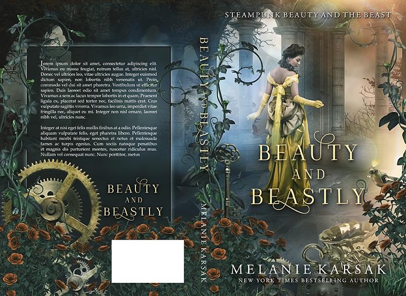 "Cover: ""Beauty and Beastly"" by Melanie Karsak"