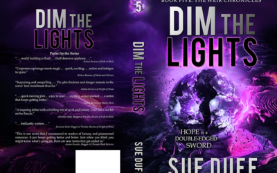 "Cover: ""Dim the Lights"" by Sue Duff"