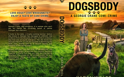 """Cover: """"Dogsbody"""" by Karen Wolfe"""