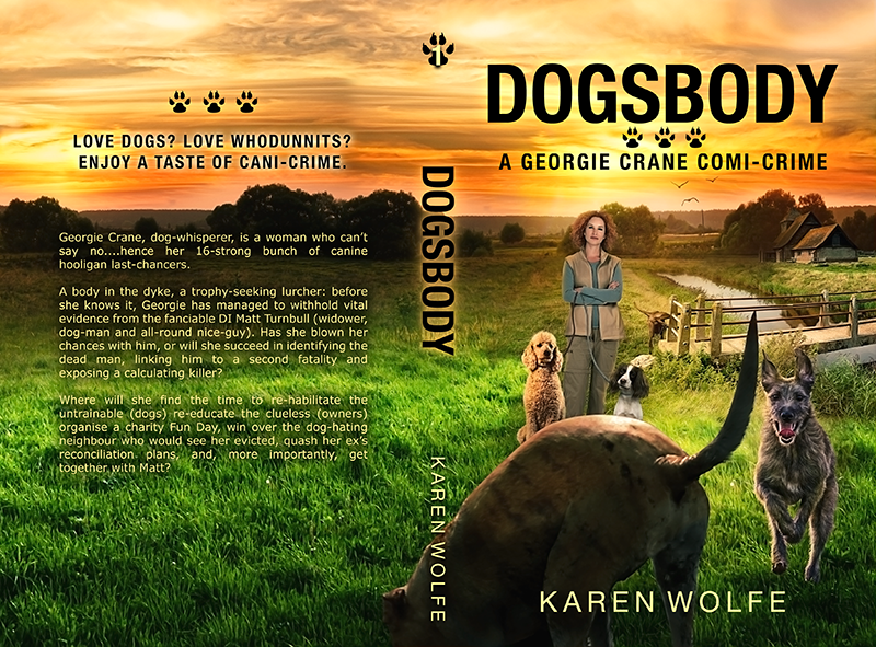 "Cover: ""Dogsbody"" by Karen Wolfe"