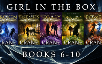 New Covers for Robert J. Crane's Girl in the Box Series, Part 3