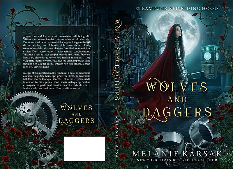 "Cover: ""Wolves and Daggers"" by Melanie Karsak"