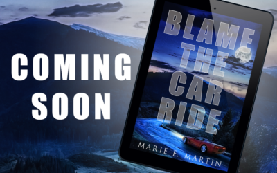 """Cover: """"Blame the Car Ride"""" by Marie F. Martin"""